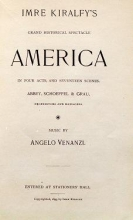 Imre Kiralfy's grand historical spectacle, America