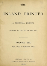 Cover of The Inland printer