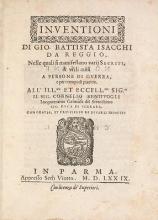 Cover of Inuentioni di Gio. Battista Isacchi da Reggio
