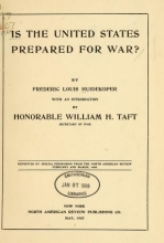 Cover of Is the United States prepared for war?