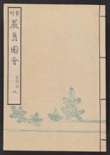 Cover of Itsukushima zue v. 8