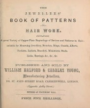 Cover of The jewellers' book of patterns in hair work