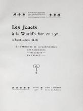 Cover of Les jouets à la World's fair en 1904 à Saint-Louis (U-S)