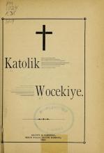 Cover of Katolik wocekiye