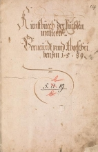 Cover of Kunstbuech der Puchsenmeisterey [sic]