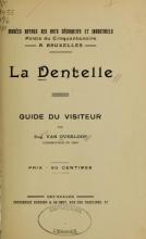 Cover of La dentelle