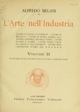 Cover of L'arte nell'industria v. 2
