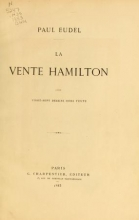 Cover of La vente Hamilton