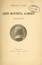 Cover of Leon Battista Alberti, architetto