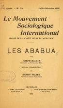 Cover of Les Ababua