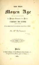 Cover of Les arts au moyen àge
