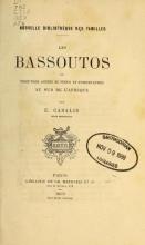 Cover of Les Bassoutos