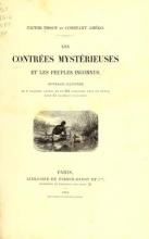 Cover of Les contrées mystérieuses et les peuples inconnus