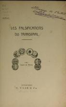 Cover of Les falsifications du Transvaal