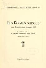 Cover of Les Postes suisses