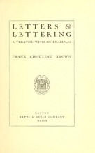 Cover of Letters & lettering