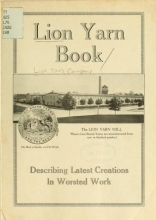 Cover of Lion yarn book