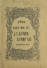 Cover of List no. 17