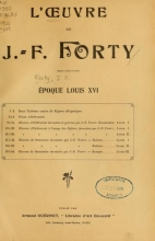 Cover of L'œuvre de J.-F. Forty