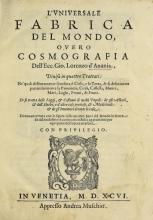 Cover of L'vniversale fabrica del mondo
