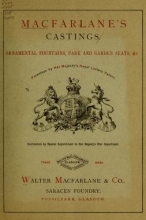 Cover of Macfarlane's castings