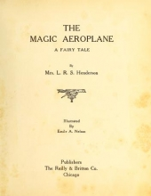 Cover of The magic aeroplane