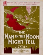 Cover of The man in the moon might tell