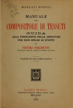 Cover of Manuale del compositore di tessuti