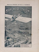 Cover of Marche des avions