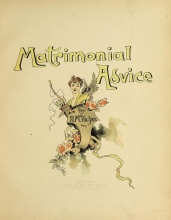 Cover of Matrimonial advice