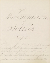 Cover of Of the mensuration of solids