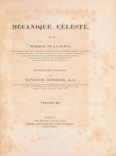 Cover of Mécanique céleste v. 3