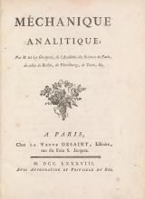 Cover of Méchanique analitique