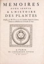 Cover of Meloires pour servir al l'histoire des plantes