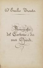 Cover of Monografia del carbonio e dei suoi ossidi