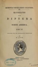 Cover of Monographs of the Diptera of North America