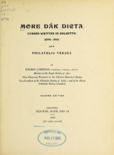 Cover of More Dak dicta