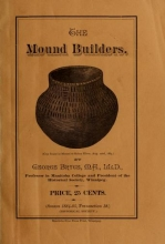 Cover of The mound builders