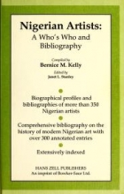 Cover of Nigerian artists a who's who and bibliography