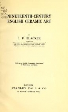 Cover of Nineteenth-century English ceramic art