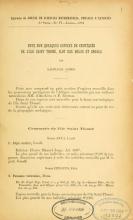 Cover of Note sur quelques espèces de crustacés de l'Ile Saint Thomé, ilot das Rolas et Angola