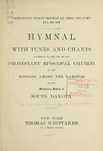 Cover of Okodakiciye-wakan odowan qa okna ahiyayapi kta ho kin