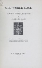Cover of Old world lace