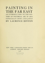 Cover of Painting in the Far East