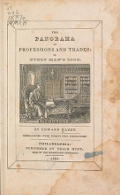 Cover of The panorama of professions and trades