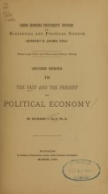 Cover of The past and the present of political economy