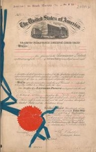 Cover of Patents granted to Charles F. Brush relating to electric machinery and apparatus