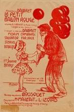 Cover of Le Petit ballon rouge