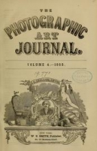 Cover of The Photographic art-journal