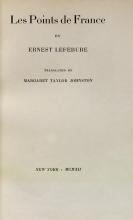 Cover of Les points de France